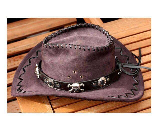 Skull Hatband Black Leather Hat Band Handmade Hat Band Etsy Black Leather Hat Leather Cowboy Hats Cowboy Hats