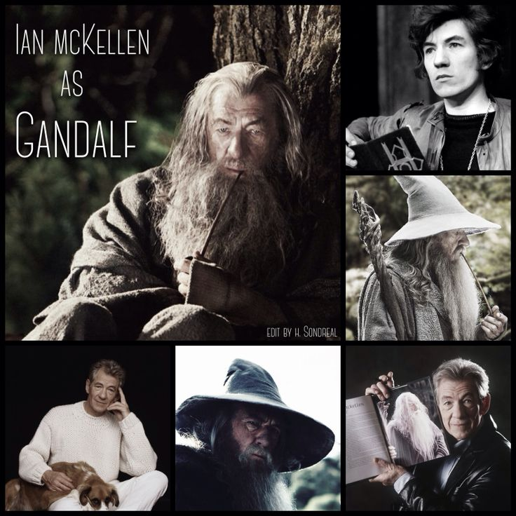 Ian McKellen as Gandalf by Heather Sondreal