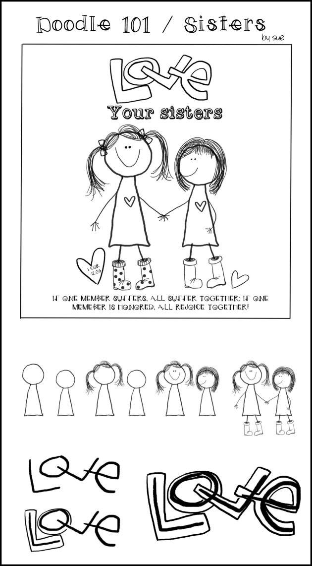 Doodle101:sisters:SueCarroll