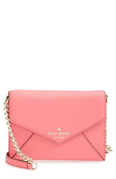 Free shipping and returns on kate spade new york 'cedar street - monday' crossbody bag at Nordstrom.com. A compact, envelope-style crossbody bag crafted from lustrous crosshatched leather is furnished with a optional polished chain strap for a classic, downtown-chic look.