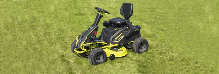 Ryobi R48110 Electric Riding Lawn Mower Review - Consumer Reports