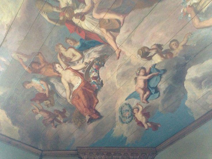 Plafonds kasteel Slangenburg.