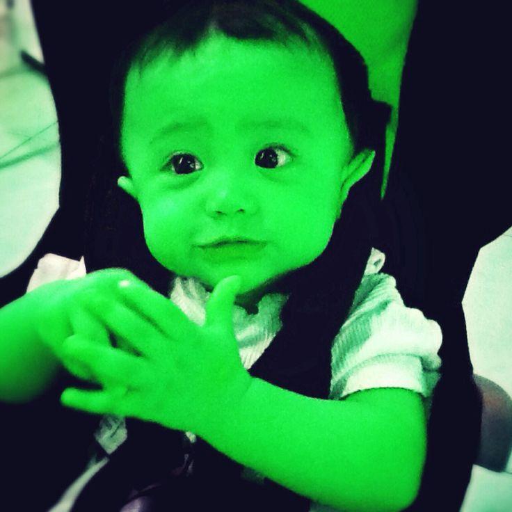 Baby Hulk...