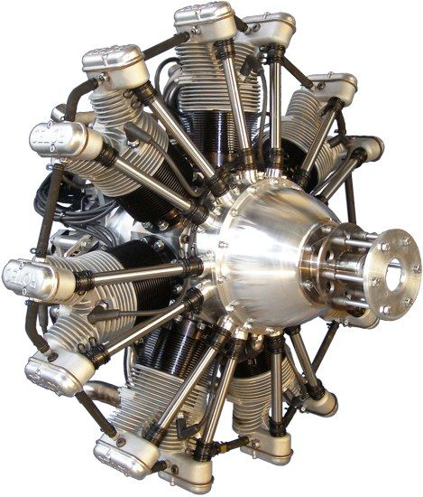 Rotec's R2800  7 CYLINDER RADIAL 110 HORSEPOWER
