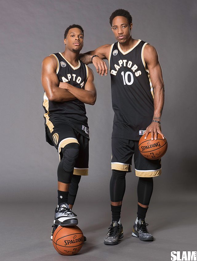 Raptors Kyle Lowry and DeMar DeRozan
