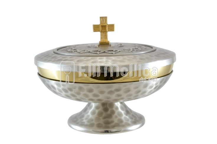 Ciborium Low with IHS and Crown of thorns