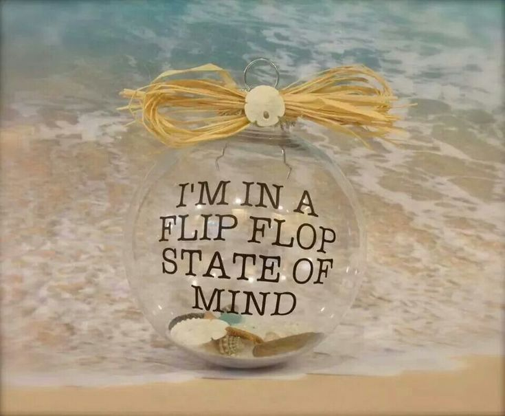 I'm in a flip flop state of mind