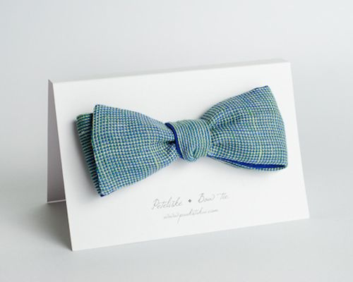 Slapping a bow tie on always makes things look quite dapper. Even on a card :P
