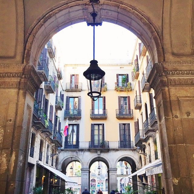 #Barcelona Plaça Reial