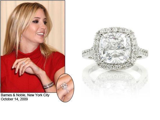 Melania Trump Engagement Ring Photos 44