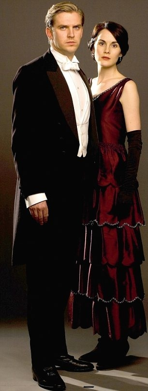 DOWNTON ABBEY FASHION / EDWARDIAN ERA/ LADY MARY AND MATTHEW CRAWLEY