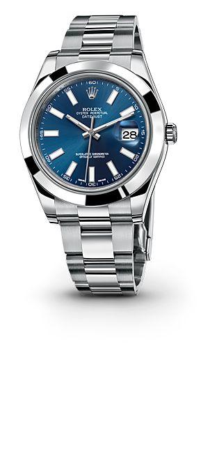 Rolex Datejust II Watch: 904L steel – M116300-0005