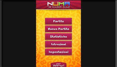 Il gioco consiste nell'individuare su una griglia di 25 numeri disposti a caso, il numero maggiore di operazioni possibili per ottenere un risultato indicato nella partita.