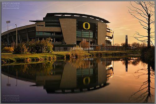 University of Oregon's Autzen Stadum.