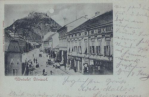 Deva - Salutari din Deva -  1899