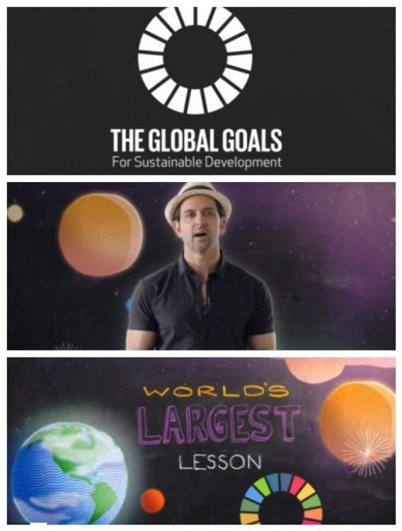 Global Goals: Hrithik Roshan has an important lesson for you! | PINKVILLA