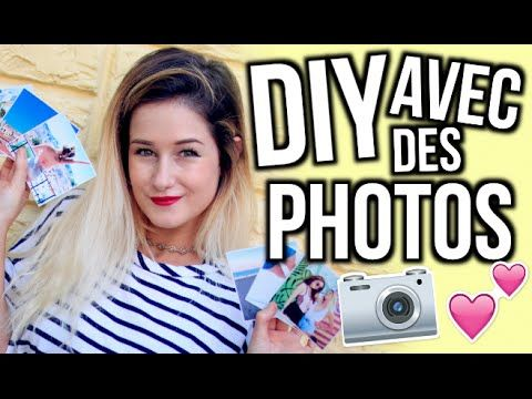 DIY À FAIRE AVEC DES PHOTOS | Emma Verde - YouTube