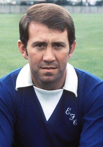 Howard Kendall Everton 1972