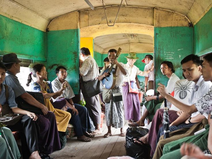 Gary Latham Photography - Circle Line Yangone, Burma
