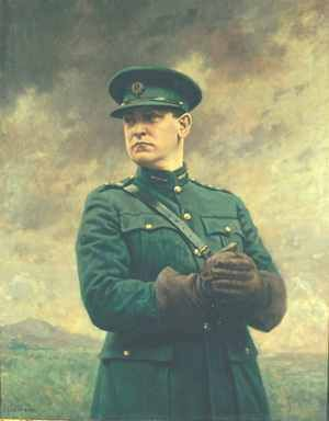 Give us the future... We've had enough of your past... Give us back our country... to live in, - to grow in, - to Love. (Michael Collins)