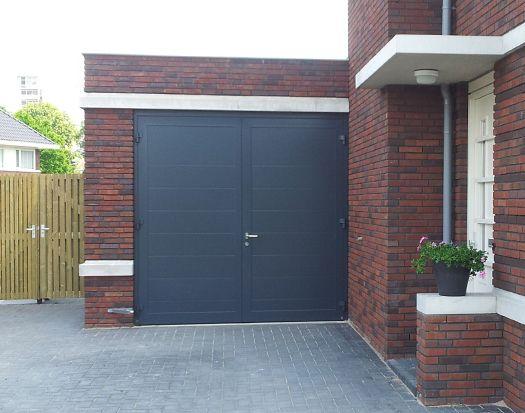 Houten Garagedeuren Prijs : Openslaande garagedeuren en garagepoorten plaatsing in zuid