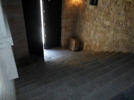 Great Hospital of the Knights - Side Staircase
