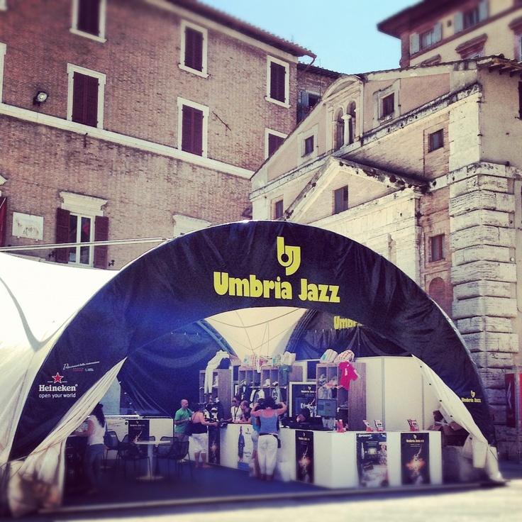 Perugia #Umbria #Jazz in July