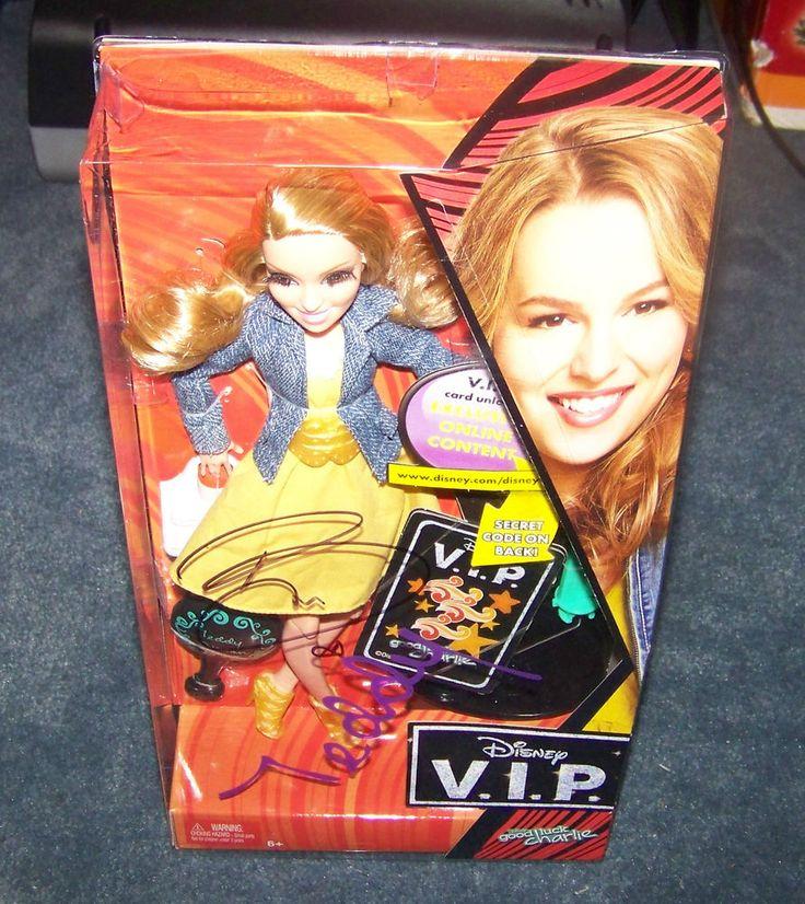 "Bridgit Mendler ""Teddy Duncan"" ""Good Luck Charlie"" Autographed V.I.P Doll w/Coa"