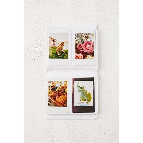 Instax Patterned Photo Album ($12) ❤ liked on Polyvore featuring home, home decor, frames, pocket photo album, urban outfitters, plastic picture frames and plastic frames