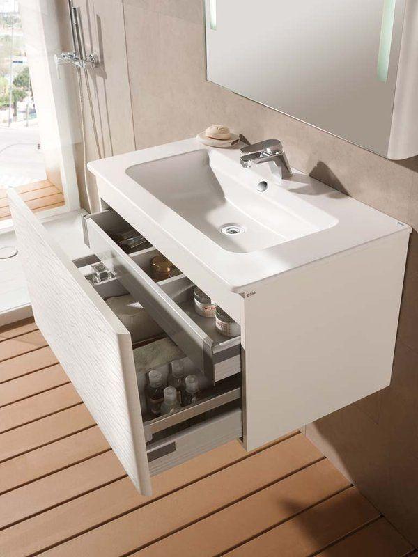 Pr ctico las instalaciones b sicas en el ba o bathroom for Muebles de bano de diseno modernos