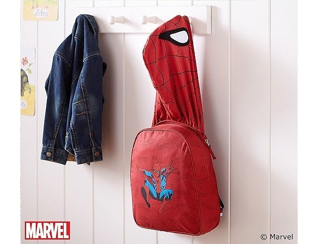 Spider-Man Hoodie Backpack $14.99 (potterybarnkids.com)