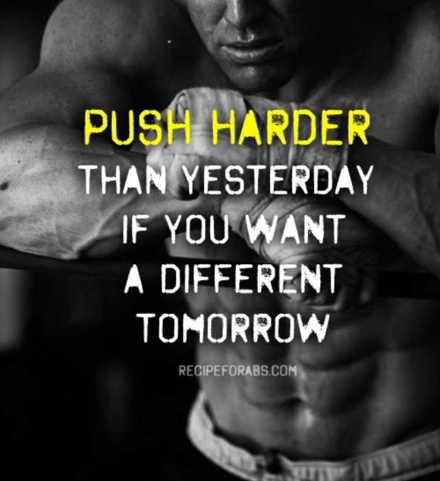 44 Inspirational Workout Quotes With Pictures To Getting: Push Harder Working Out Quotes. QuotesGram