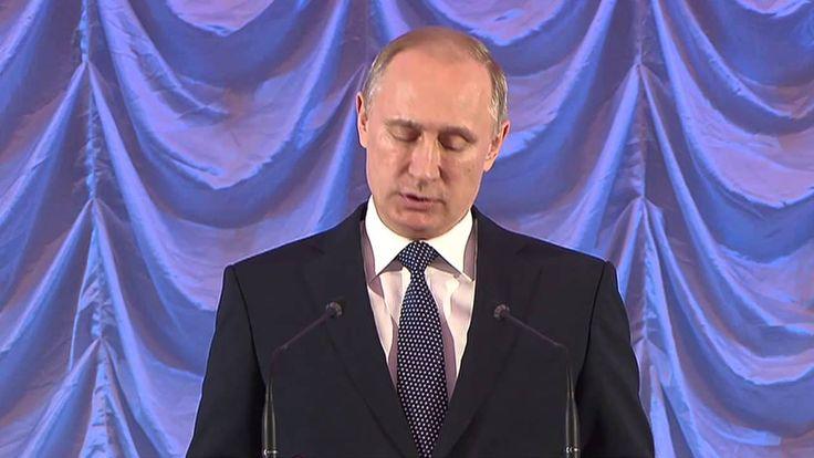 В.В.Путин. Обращение на новогоднем приёме в Кремле. 26.12.2014