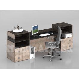 Bancone reception modello SAHARA solida, robusta, elegante e contemporanea per arredare il vostro albergo, hotel, casa vacanze, ufficio, locale al miglior rapporto prezzo - qualità.