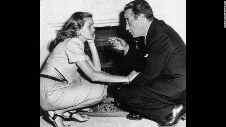 """Bacall met her future husband, Humphrey Bogart, while working on the 1944 film """"To Have And Have Not."""" Description from linkedcxoforum.com. I searched for this on bing.com/images"""