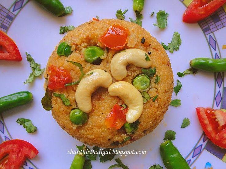 Shanthi Krishnakumar's cook book: KHARA BHATH (KARNATAKA STYLE)