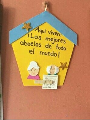 Ms de 25 ideas increbles sobre Da de los abuelos en Pinterest