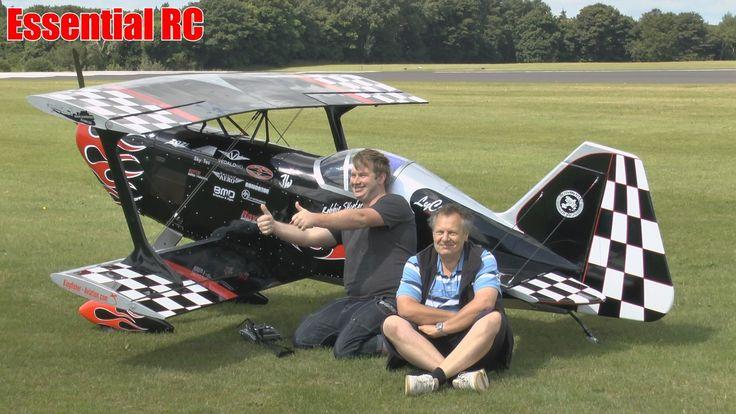 LARGE SCALE RC 68% Prometheus Biplane (Robbie Skipton)