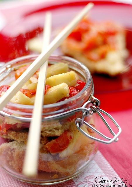 Pollo in carpione agrodolce #recipe #juliesoissons