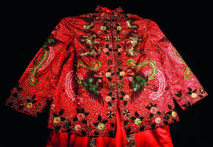 Melbourne's Chinese Museum RoyalAuto February, 2016. Photo: Anne Morley. #Chinatown #ChineseNewYear #MelbourneChineseMuseum #Textile #Clothing #Fabric