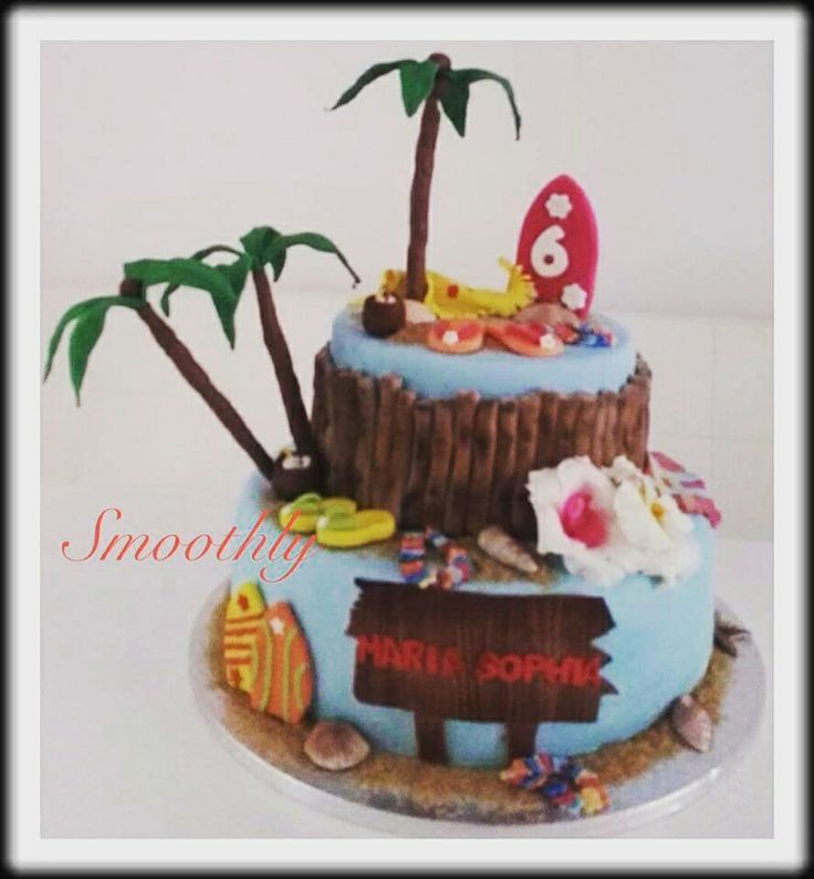 Hawaii Cake by Smoothly