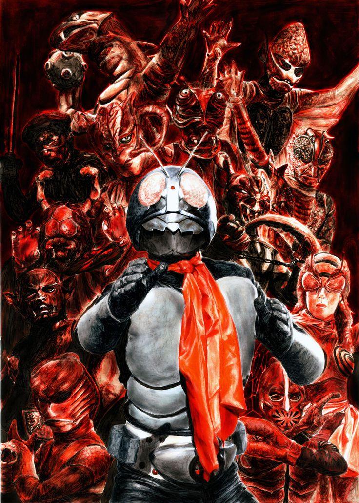 Kamen Rider and foes
