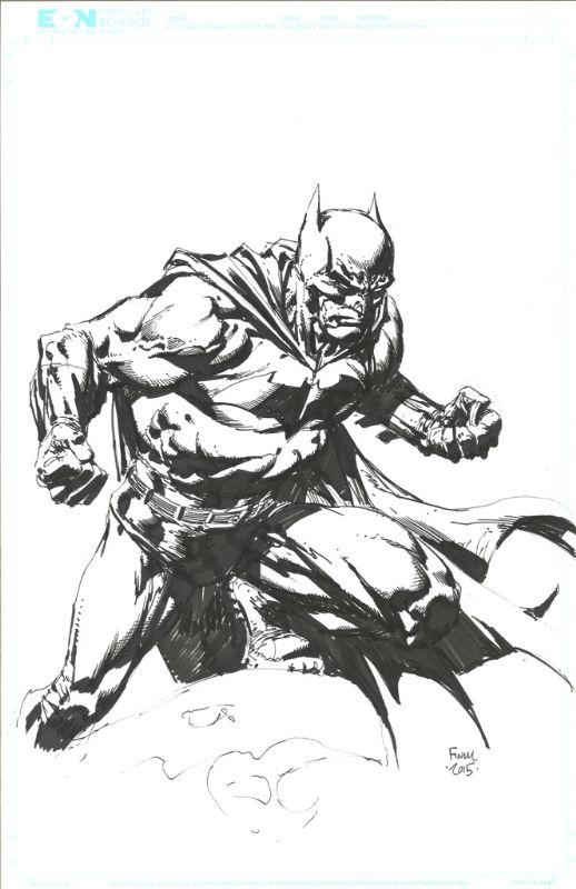 Batman - David Finch Comic Art