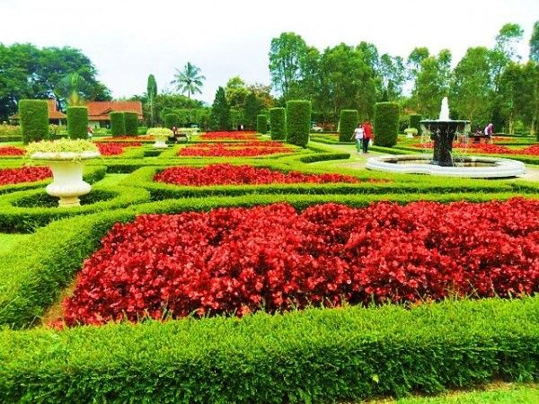 Taman Bunga Di Cihideung Bandung