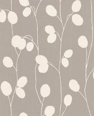 Honesty: Taupe Wallpaper