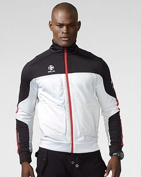 Ralph Lauren White Rlx Active Terry Jacket