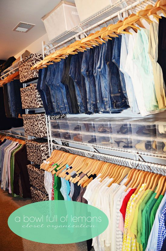 Organize Your Closet By Season Home Decor
