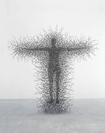 Quantum Potentiality of the Manifested Self by Antony Gormley www.antonygormley.com