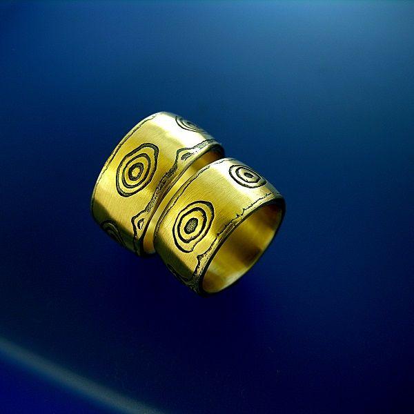 shakudo & gold