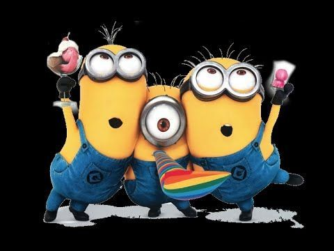 Happy Birthday with minions - YouTube